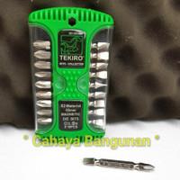 MATA DRIVER BOR OBENG TEKIRO Min Minus - Plus + Magnet 65mm bkn Bosch