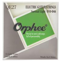 1 Set Senar Gitar Listrik / Electric Guitar Orphee QE27 Size 10 Ori