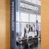 buku 8th edition industrial and organizational psychology an applied