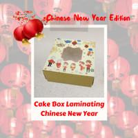 Box cantik 22 x 22 x 10 / Box Cake Lapis Imlek Cantik