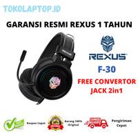 Rexus F30 Vonix LED RGB Gaming Headset GARANSI RESMI
