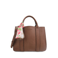 Tas Travel Les Catino Suika Satchel Nl Brown Lacoste With Scarf