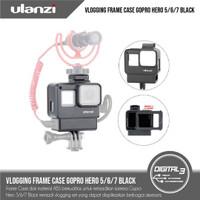 ULANZI V2 Vlog Case GoPro Hero 5 / 6 / 7 Black Vlogging Casing Frame