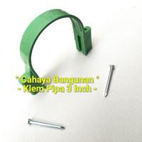 "Klem Pipa Air Pvc Peralon Pralon Rucika Arrow 3""Inch Inc Tembok Kayu"