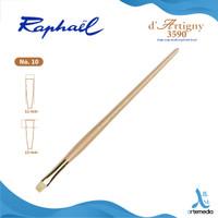 Kuas Lukis Raphael 3590 Bright D Artigny Hog Bristle Brush Long Handle