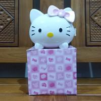 Jam Beker / Jam Alarm / Jam Meja Weker Bisa Pakai Foto Hello Kitty