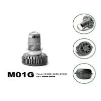 Lampu Led Motor H6 H4 2 Warna Putih Kuning RTD M01G