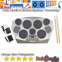 Drum Elektrik Medeli DD309 DD 309 Original Drum Pad Setara Yamaha DD75