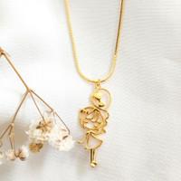 Kalung Liontin wanita Necklace Girl Jewellery Gold Shop Toko Emas asli
