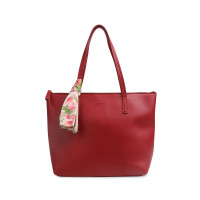 Tas Tote Les Catino Marvella Tote New Red/Maroon With Scarf
