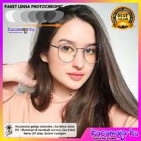 Kacamata minus wanita bulat photocromic antiradiasi ursulla 2.0