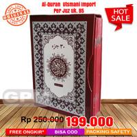 Al-Quran Utsmani Import Model Per Juz EL-SAHHAR Box uk. B5