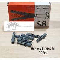 FISSER S8 / FISHER S8 1 DUS 100PCS