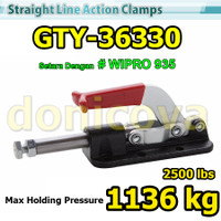 Toggle Clamp Push Pull GH GTY 36330 setara WIPRO 935 1136kg