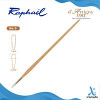 Kuas Lukis Raphael 3592 Filbert D Artigny Hog Bristle Brush Long Handl