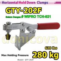 Toggle Clamp Horizontal GH 202F GTY 202 F setara WIPRO TCH-921 280kg
