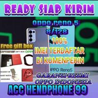 oppo reno 5 8/128gb garansi resmi oppo indonesia