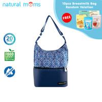 Thermal Bag / Cooler Bag Natural Moms - Tote Blue Sofya