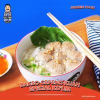 Bakso Gepeng Kuah Special KO'LIM (Frozen) + 1 pack isi 25 pcs