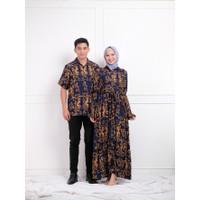 Gamis Couple Pasangan Terbaru 2021 Rayon Sultan FK 1 - Nevi