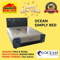 Kasur Springbed - Kasur Simply Bed - OCEAN