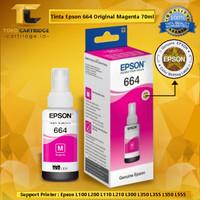 Tinta refill epson Original 664 Black L100 L110 L120 L200 L210 L220