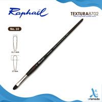 Kuas Lukis Raphael 8702 Filbert Textura Synthetic Brush Long Handle