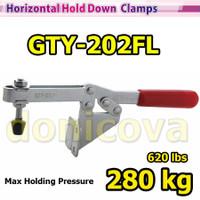 Toggle Clamp Horizontal GH 202FL GTY 202 FL setara WIPRO TCH-921 280kg
