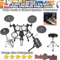 Drum Elektrik Yamaha Dtx6k3 Dtx-6k3 Dtx 6 K3 Original Bonus Kursi Drum