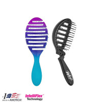 The Wet Brush Flex Dry Ombre Teal + Pop n Go Speed Dry Black