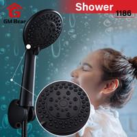 Gm Bear Shower Mandi Hand Shower Hitam-1186 Shower Set