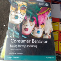 consumer behavior buying having and being twelfth edition
