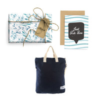 Paket Hadiah Valentine Totebag Bhumi & Gift Set Harvest - Branches