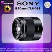 Sony E 50mm f/1.8 OSS Lens LENSA SONY 50mm F1.8 oss lens
