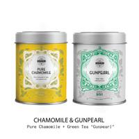 The Original   PROMO Big Tin   Pure Chamomile + Gunpearl Green Tea