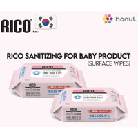 Rico sanitizing wipes for baby products (50sheet)