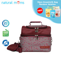 Thermal Bag / Cooler Bag Natural Moms - Sling Otello