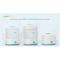 Crown 9 Bottles Mega Steriliser With Dryer CR1588|Steril Crown