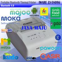 MINI THERMAL PRINTER BLUETOOTH 58MM IWARE ZJ-5809 TYPE BARU ZJ-5809ii
