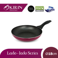 Kirin Lado-Lado Teflon Penggorengan Fry Pan 18 cm
