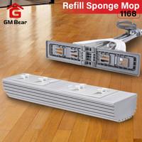GM BEAR REFIL Alat Pel Tarik Praktis-1168 Refill Sponge Mop