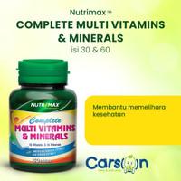 Nutrimax Complete Plus Multi Vitamin Untuk Kekebalan Daya Tahan Tubuh