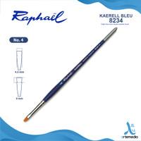 Kuas Lukis Raphael 8234 Bright Short Kaerell Bleu Synthetic Brush SH