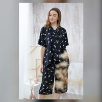 Kalla Set in Tortoiseshell - Sleepwear / Piyama Baju Tidur Rayon RAHA