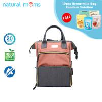 Thermal Bag / Cooler Bag Natural Moms - Backpack New Igloo Zora