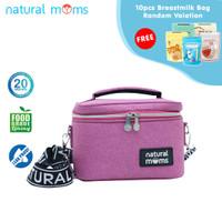 Thermal Bag / Cooler Bag Natural Moms - Single Frio Levita