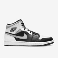 Nike Air Jordan 1 Mid Shadow Black Light Heather White ORIGINAL BNIB - 42.5
