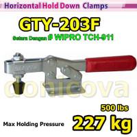 Toggle Clamp Horizontal GH 203F GTY 203 F setara WIPRO TCH-911 227kg