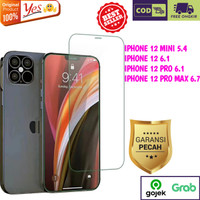 Tempered Glass Iphone 12 Mini 5.4 Pro Max 6.7 6.1 Anti Gores Kaca Yes