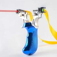 mainan ketapel berburu taktis laser target laser sight slingshot